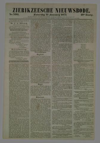 Zierikzeesche Nieuwsbode 1873-01-11