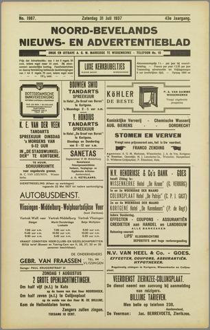 Noord-Bevelands Nieuws- en advertentieblad 1937-07-31