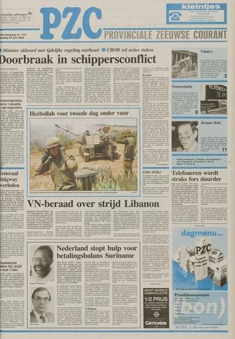 Provinciale Zeeuwse Courant 1993-07-27
