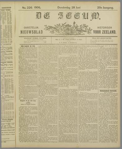 De Zeeuw. Christelijk-historisch nieuwsblad voor Zeeland 1906-06-28