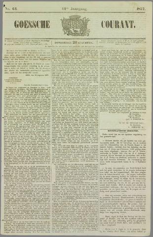 Goessche Courant 1857-08-20