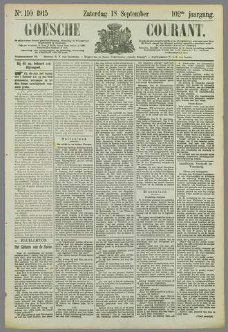 Goessche Courant 1915-09-18