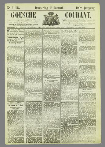 Goessche Courant 1913-01-16