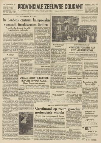 Provinciale Zeeuwse Courant 1953-06-02