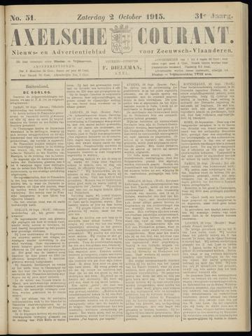 Axelsche Courant 1915-10-02