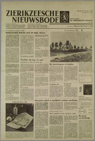 Zierikzeesche Nieuwsbode 1963-12-31