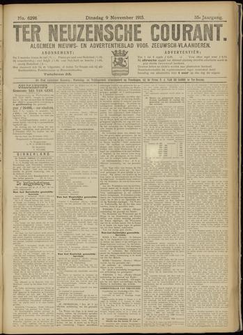 Ter Neuzensche Courant. Algemeen Nieuws- en Advertentieblad voor Zeeuwsch-Vlaanderen / Neuzensche Courant ... (idem) / (Algemeen) nieuws en advertentieblad voor Zeeuwsch-Vlaanderen 1915-11-09