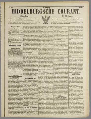Middelburgsche Courant 1906-10-16