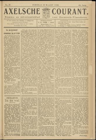 Axelsche Courant 1926-03-16