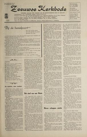 Zeeuwsche kerkbode, weekblad gewijd aan de belangen der gereformeerde kerken/ Zeeuwsch kerkblad 1968-08-29