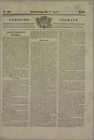 Goessche Courant 1842-04-07