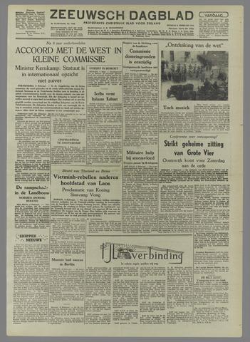 Zeeuwsch Dagblad 1954-02-09