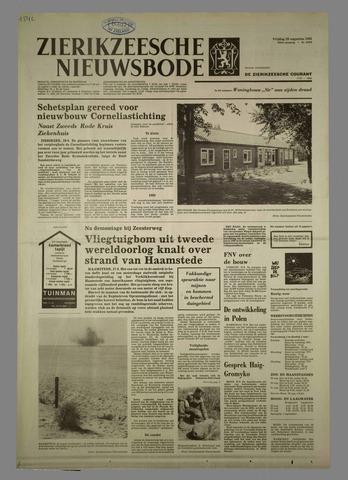 Zierikzeesche Nieuwsbode 1981-08-28