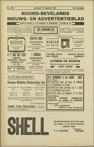 Noord-Bevelands Nieuws- en advertentieblad 1937-08-28