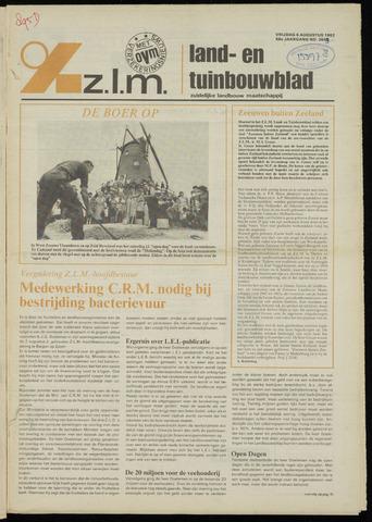 Zeeuwsch landbouwblad ... ZLM land- en tuinbouwblad 1982-08-06