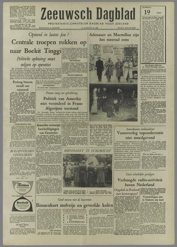 Zeeuwsch Dagblad 1958-04-19