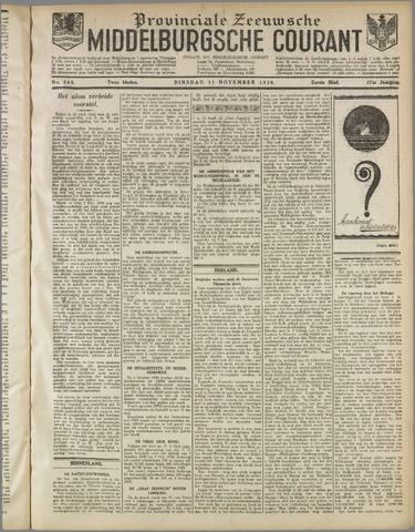 Middelburgsche Courant 1930-11-11