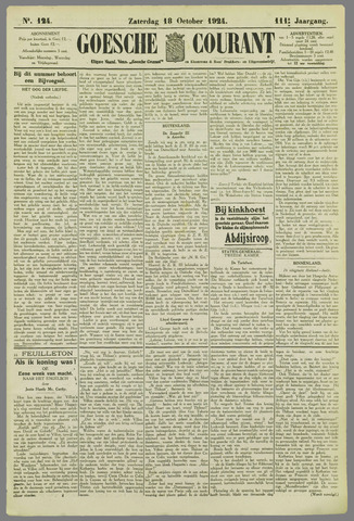 Goessche Courant 1924-10-18