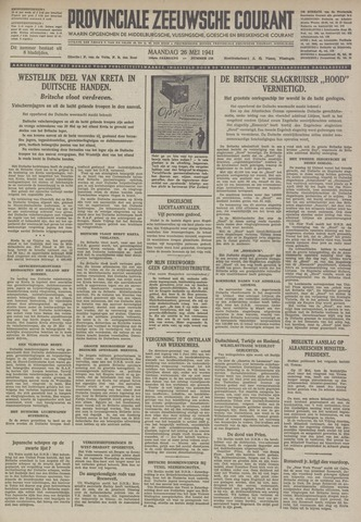 Provinciale Zeeuwse Courant 1941-05-26
