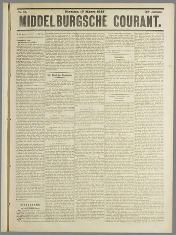 Middelburgsche Courant 1925-03-10