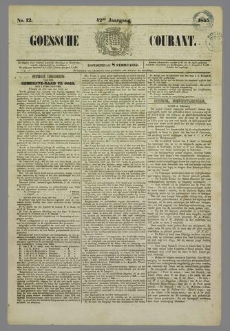 Goessche Courant 1855-02-08