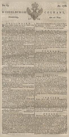 Middelburgsche Courant 1768-05-26