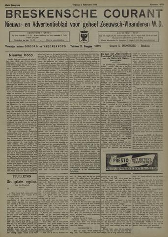 Breskensche Courant 1939-02-03