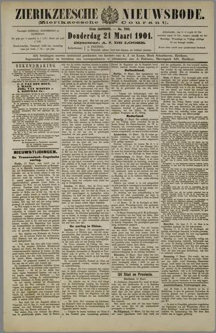 Zierikzeesche Nieuwsbode 1901-03-21