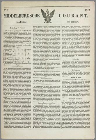 Middelburgsche Courant 1872-01-25