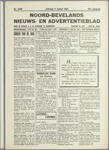 Noord-Bevelands Nieuws- en advertentieblad 1949-01-08
