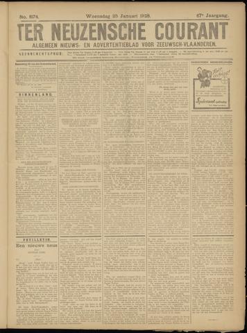 Ter Neuzensche Courant. Algemeen Nieuws- en Advertentieblad voor Zeeuwsch-Vlaanderen / Neuzensche Courant ... (idem) / (Algemeen) nieuws en advertentieblad voor Zeeuwsch-Vlaanderen 1928-01-25