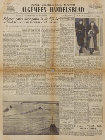 Watersnood documentatie 1953 - kranten 1953-02-04