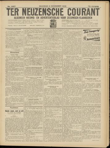 Ter Neuzensche Courant. Algemeen Nieuws- en Advertentieblad voor Zeeuwsch-Vlaanderen / Neuzensche Courant ... (idem) / (Algemeen) nieuws en advertentieblad voor Zeeuwsch-Vlaanderen 1939-11-06