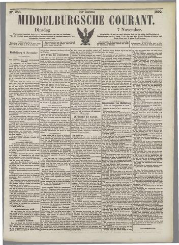 Middelburgsche Courant 1899-11-07