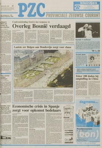 Provinciale Zeeuwse Courant 1993-08-06