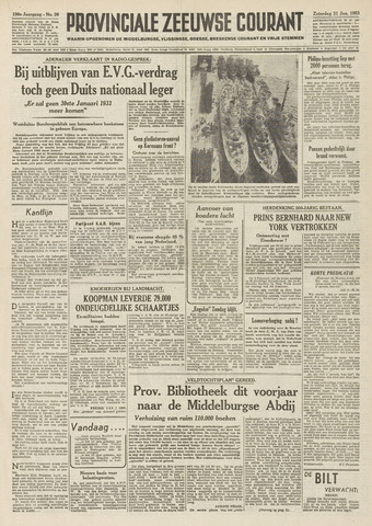 Provinciale Zeeuwse Courant 1953-01-31