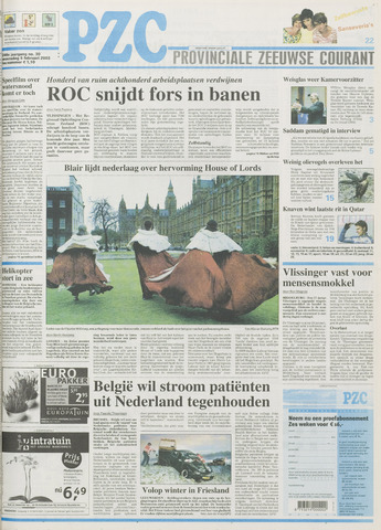 Provinciale Zeeuwse Courant 2003-02-05