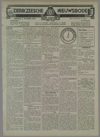 Zierikzeesche Nieuwsbode 1936-10-06