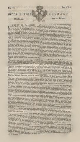 Middelburgsche Courant 1762-02-11
