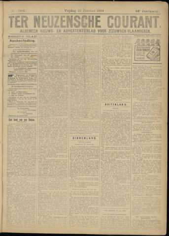 Ter Neuzensche Courant. Algemeen Nieuws- en Advertentieblad voor Zeeuwsch-Vlaanderen / Neuzensche Courant ... (idem) / (Algemeen) nieuws en advertentieblad voor Zeeuwsch-Vlaanderen 1924-01-25