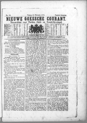 Nieuwe Goessche Courant 1874-02-13