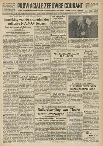 Provinciale Zeeuwse Courant 1952-12-16