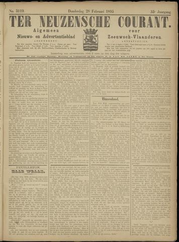 Ter Neuzensche Courant. Algemeen Nieuws- en Advertentieblad voor Zeeuwsch-Vlaanderen / Neuzensche Courant ... (idem) / (Algemeen) nieuws en advertentieblad voor Zeeuwsch-Vlaanderen 1895-02-28