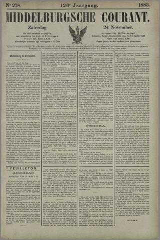 Middelburgsche Courant 1883-11-24