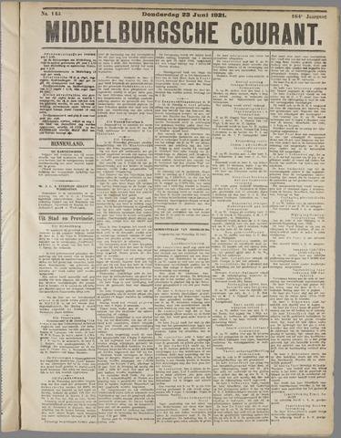 Middelburgsche Courant 1921-06-23