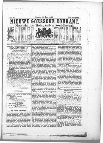 Nieuwe Goessche Courant 1876-06-20
