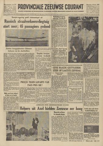 Provinciale Zeeuwse Courant 1958-10-20