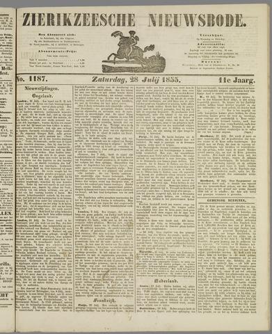 Zierikzeesche Nieuwsbode 1855-07-28