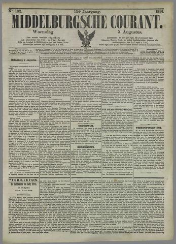 Middelburgsche Courant 1891-08-05