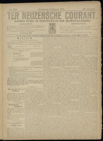 Ter Neuzensche Courant. Algemeen Nieuws- en Advertentieblad voor Zeeuwsch-Vlaanderen / Neuzensche Courant ... (idem) / (Algemeen) nieuws en advertentieblad voor Zeeuwsch-Vlaanderen 1919-01-23